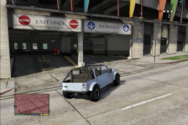 GTA5 立体駐車場