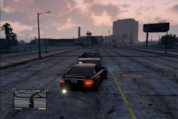 GTA5 車衝突