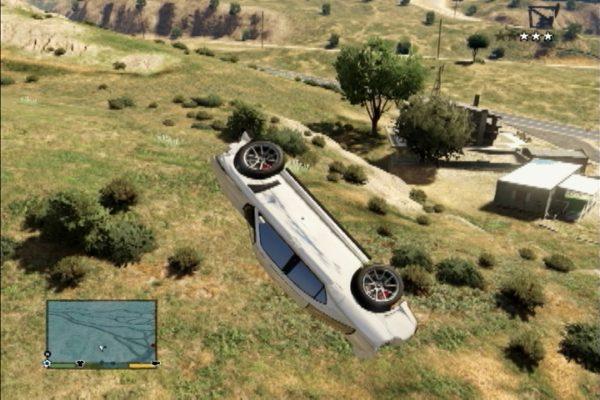 GTA5 車ジャンプ