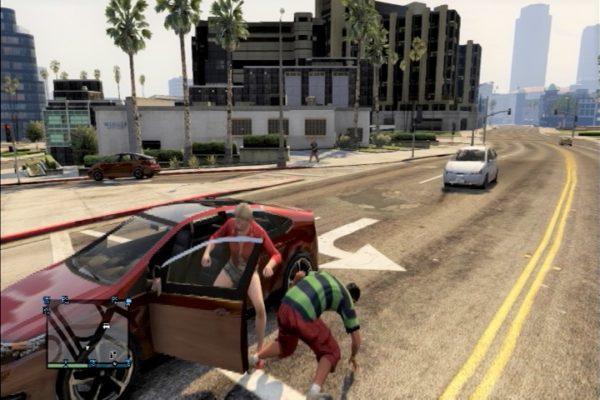 GTA5 車強奪