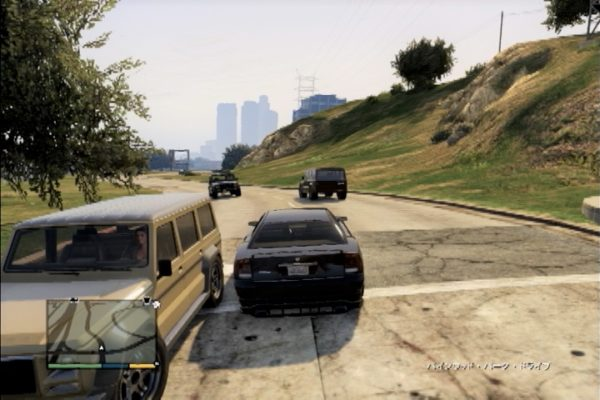 GTA5 無茶な運転
