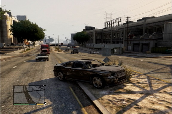 GTA5 車スピン