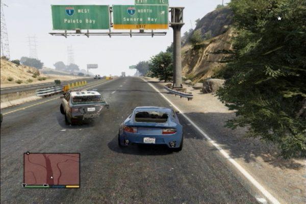 GTA5 警察追跡