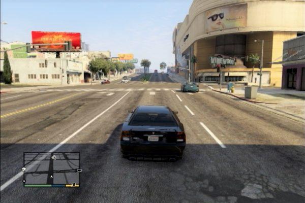 GTA5 右側通行