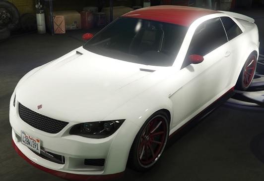 GTA5 センチネル赤