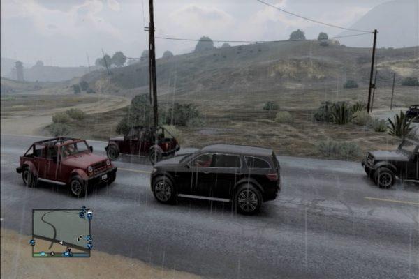 GTA5 田舎の車