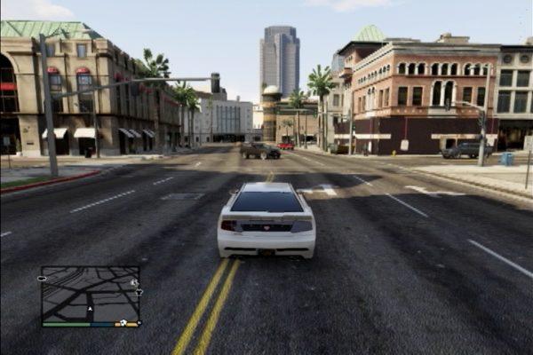 GTA5 交差点