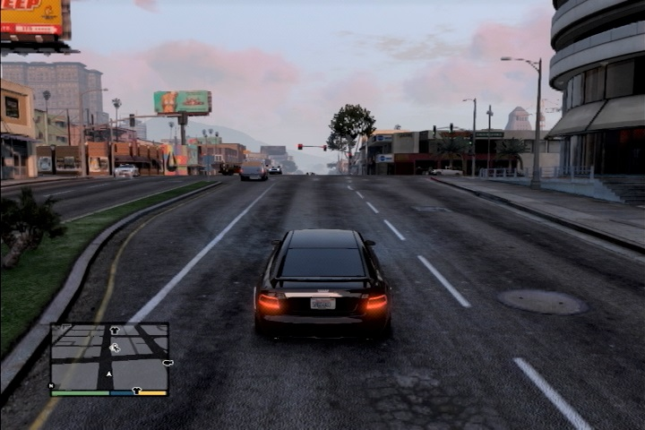 GTA5 直線