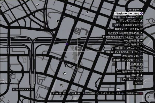 GTA5 地下道マップ