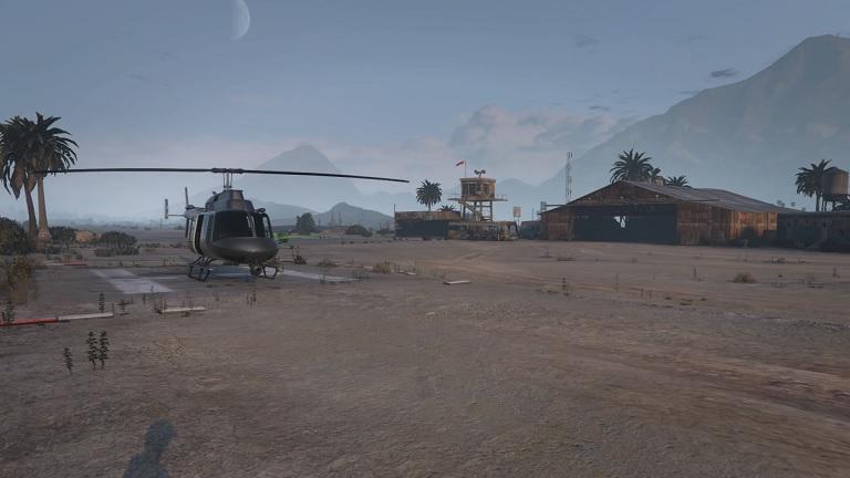 GTA5 グランドセノーラ砂漠空港