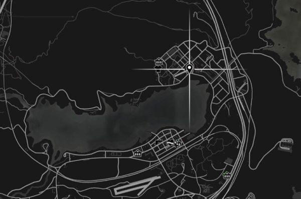 GTA5 グレイプシード空港ヘリ位置