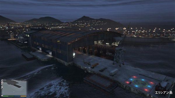 GTA5 南部倉庫ヘリ