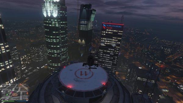 GTA5 ヘリ着陸