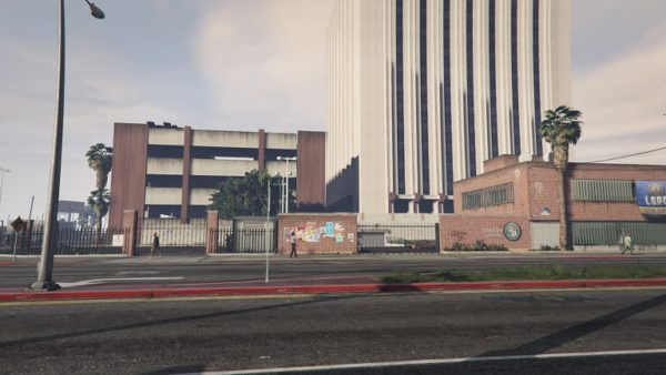 GTA5 車両押収の警察署