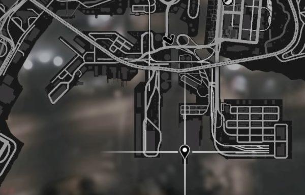 GTA5 南部倉庫ヘリ位置