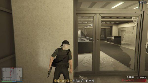 GTA5 カジノ強盗脱出