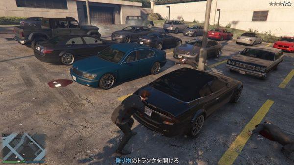 GTA5 カジノ強盗巡回ルート